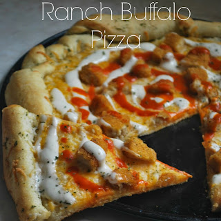 Crispy Chicken Ranch Buffalo Pizza