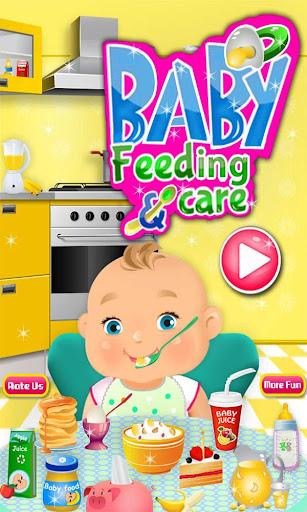 Baby Feeding Caring