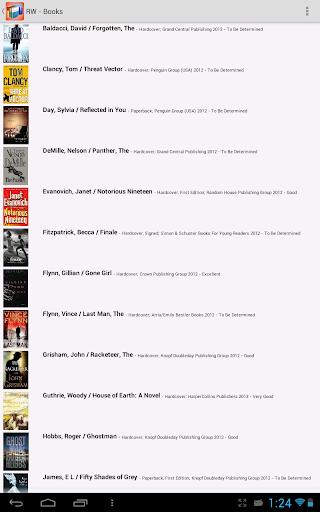 書籍必備APP下載|Readerware (Books) 好玩app不花錢|綠色工廠好玩App