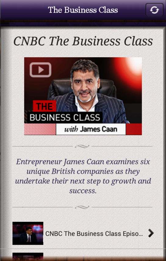 James Caan Business Secrets - screenshot