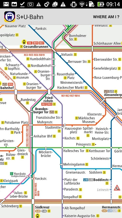 Metro DE Berlin Hamburg Munich- screenshot