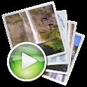 Fondos animados con cascadas icon