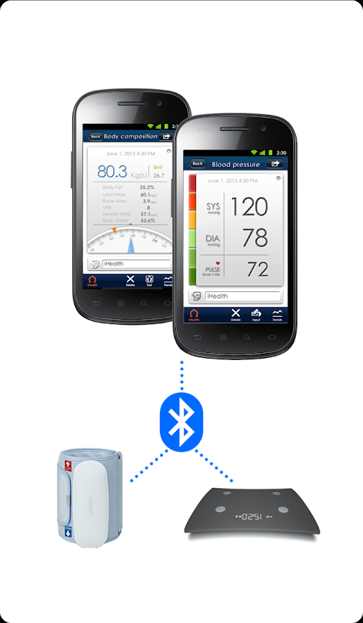 iHealth MyVitals - screenshot
