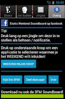 Screenshot of Ekstra Weekend Soundboard