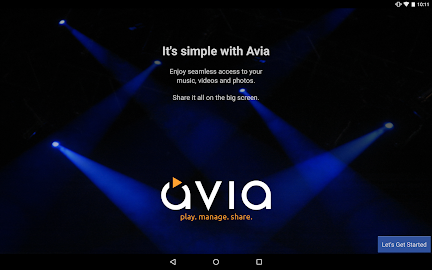 Avia Media Player (Chromecast) Screenshot 1