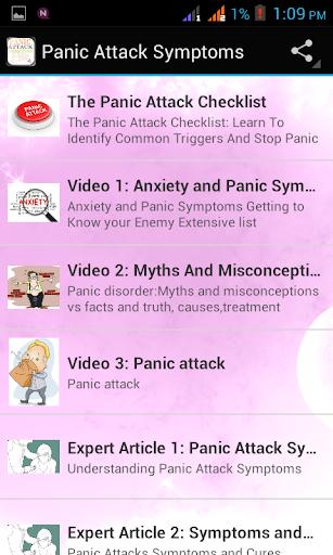 【免費健康App】Panic Attack Symptoms-APP點子
