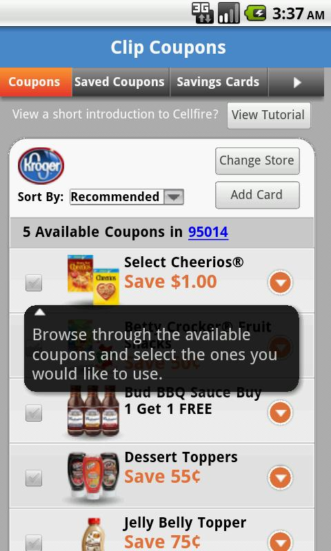 Grocery Pal (In-Store Savings)- screenshot