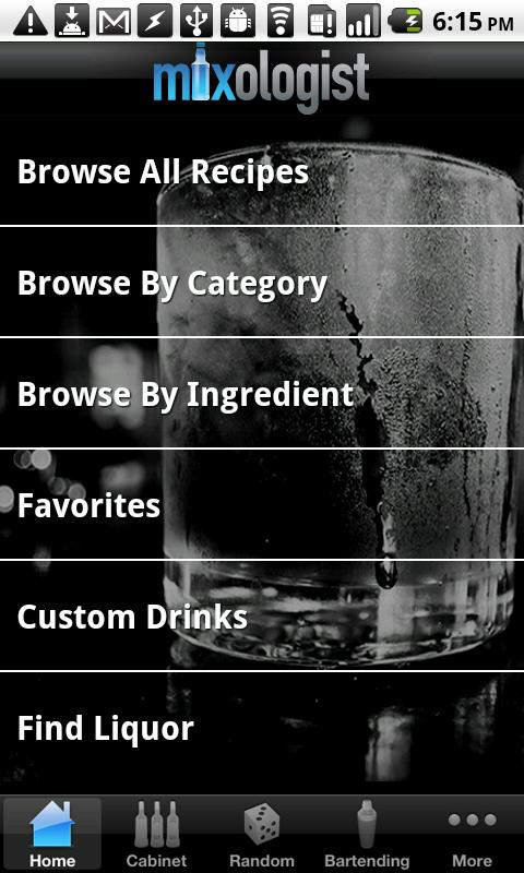 Mixologist™ Drink Recipes- screenshot