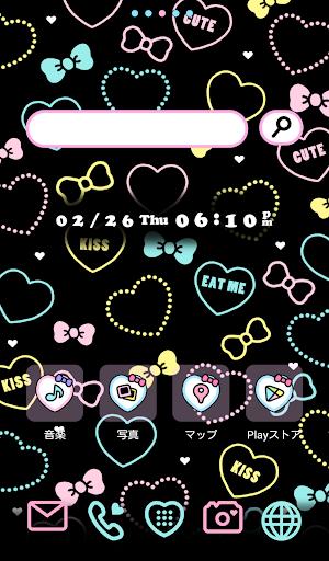 可愛換裝桌布★Ribbon Heart
