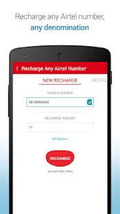 My Airtel - screenshot thumbnail