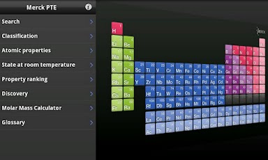 Logo for Merck Periodic Table App for Android