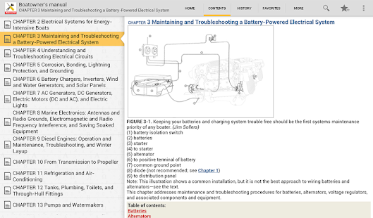 Boatowners Electrical Manual - screenshot thumbnail