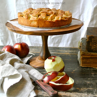 Arkansas Black Apple Tart