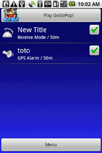 GPS Alarm+ - screenshot thumbnail