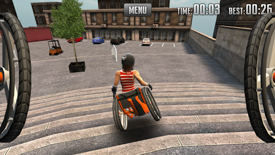 Extreme Wheelchairing- screenshot thumbnail