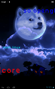 Doge Live Wallpaper FREE- screenshot thumbnail