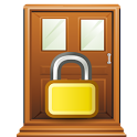 Open Screen Door Lock icon