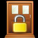 Open Screen Door Lock icon