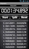 Screenshot of Stopwatch & Countdown Timer