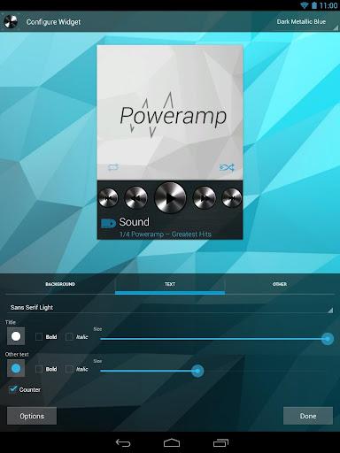 Widgets Kit for Poweramp  screenshots 2
