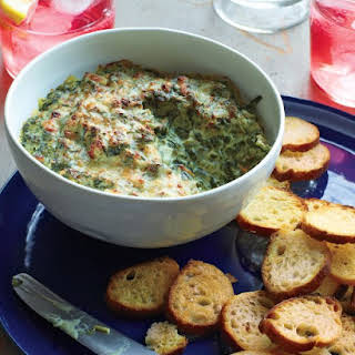 Spinach, Bacon, and Onion Dip.