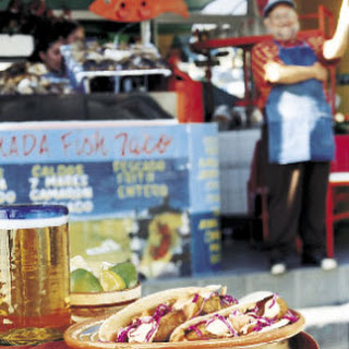 Soft Fish Tacos.
