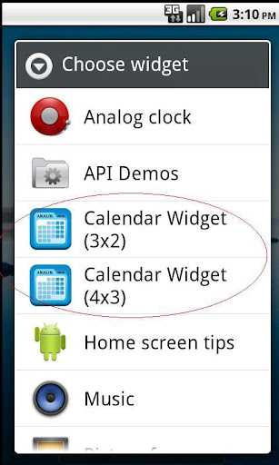Calendar Widget: Month - Android Apps on Google Play