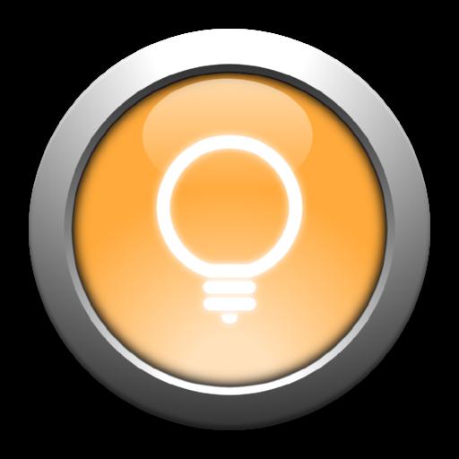シンプルなLED懐中電灯ウィジェット 工具 LOGO-玩APPs