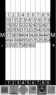 Touch Natural Numbers- screenshot thumbnail
