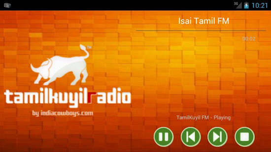 App Isai FM- Tamil Android Radio APK for Windows Phone