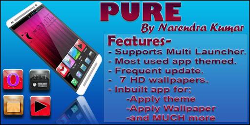 【免費個人化App】Pure Theme-APP點子
