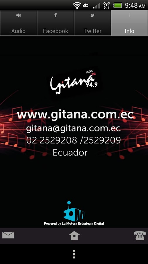 Radio Gitana- screenshot