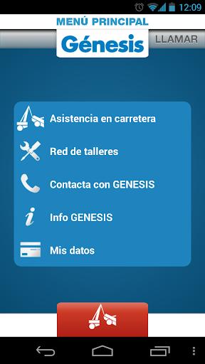 Génesis Asistencia