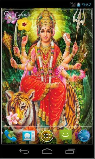 Goddess Durga HD Live Wallpapr 3.3 screenshots 3