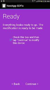 SDFix: KitKat Writable MicroSD Screenshot