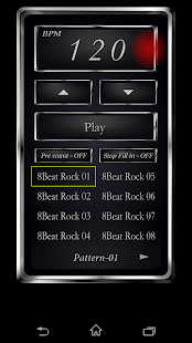 Drum Metronome (MetroDrum)- screenshot thumbnail