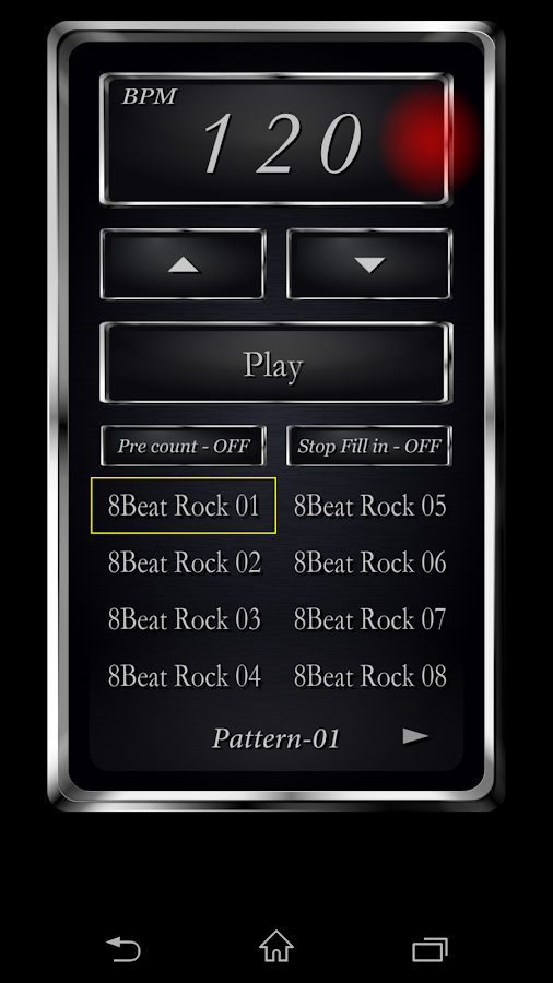 Drum Metronome (MetroDrum)- screenshot