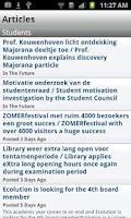 Screenshot of iTU Delft