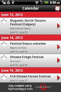 Ottawa Festivals - screenshot thumbnail