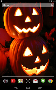 Jack-O-Lanterns Live Wallpaper- screenshot thumbnail