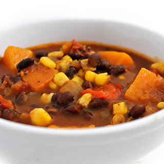 Sweet Potato & Black Bean Stew (Gluten-Free)