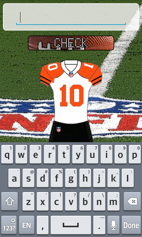 N. Football League Shirts- screenshot