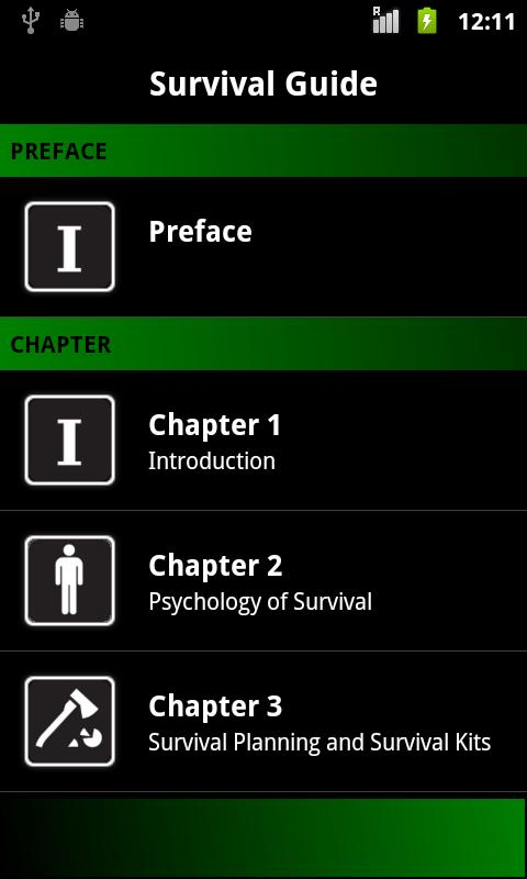 Survival Guide (Pocket Book) - screenshot