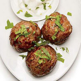 Minty Lamb Meatballs