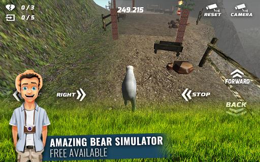 憤怒的北極熊攀登賽車