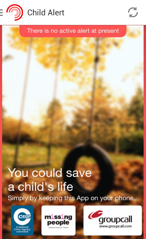 Child Rescue Alert UK- screenshot
