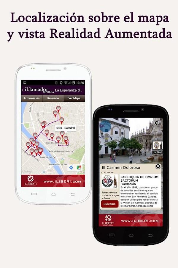 Semana Santa Sevilla iLlamador- screenshot