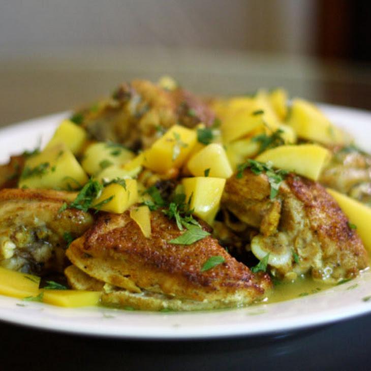 Pan-Fried Mango Chicken