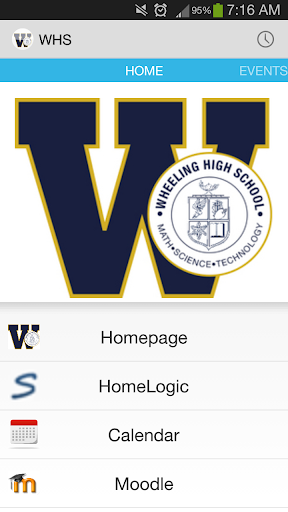 Wheeling High School App
