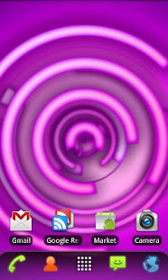 RLW Theme Purple Neon - screenshot thumbnail